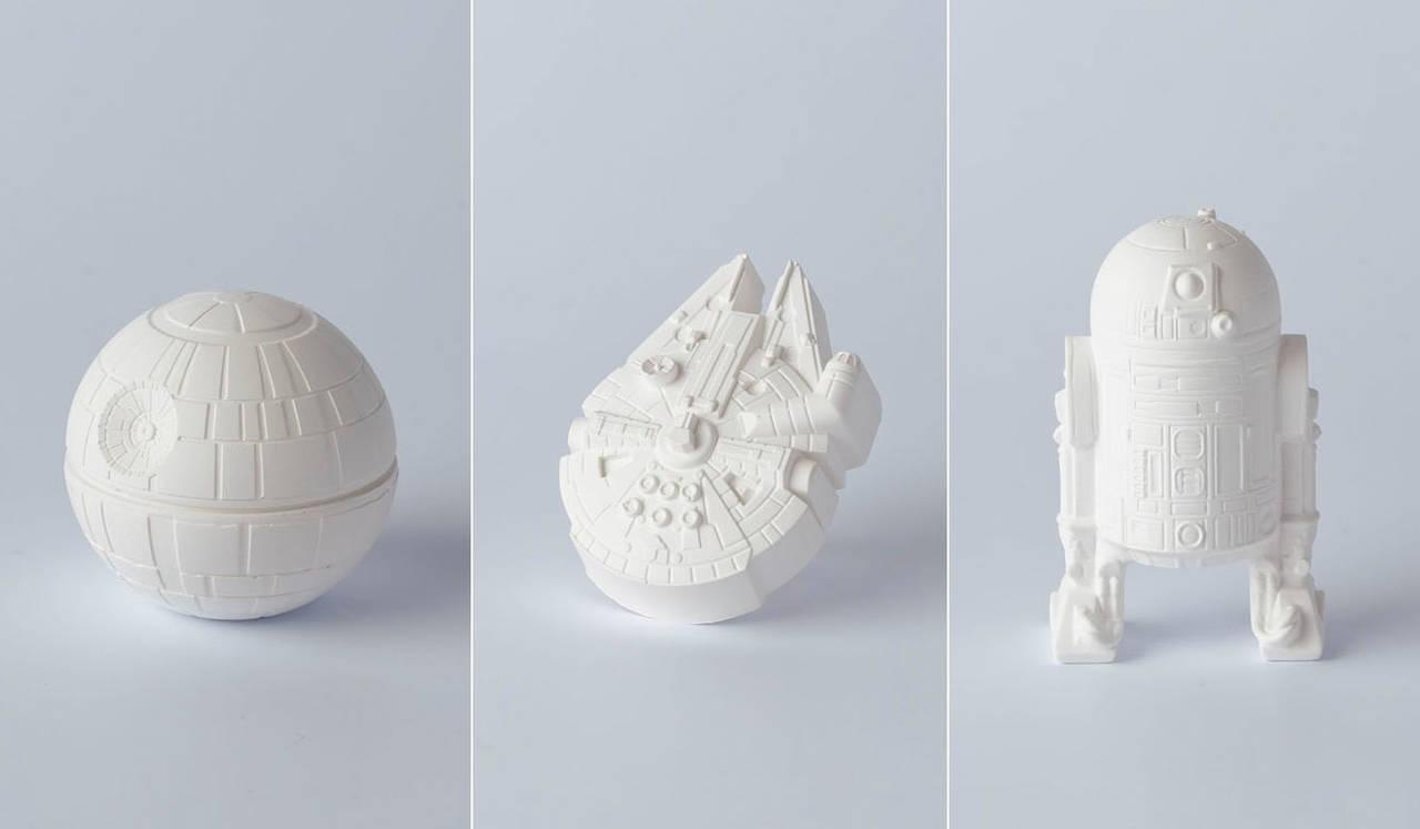 精密な石膏製の「STAR WARS / アロマオーナメント」3種類登場|Bibliotheque Blanc