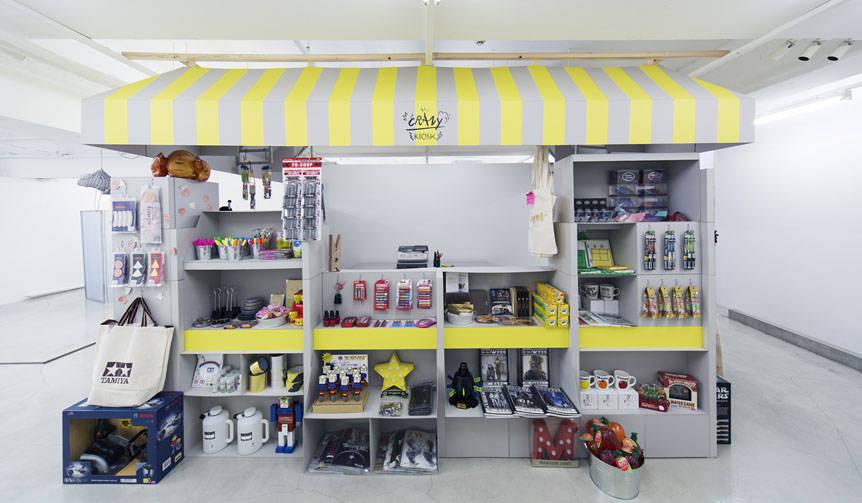 サトウユカがキュレーションする衝動買いの店「CRAZY KIOSK」オープン|method