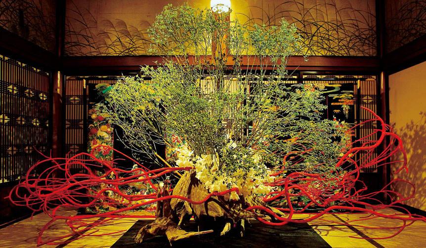 琳派400年、徳川家康没後400年を飾る「假屋崎省吾の世界展」開催|日本橋三越本店