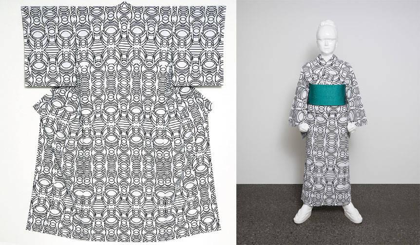 高橋理子がデザインする「ヒロコレッジ」新作浴衣が登場|HIROCOLEDGE