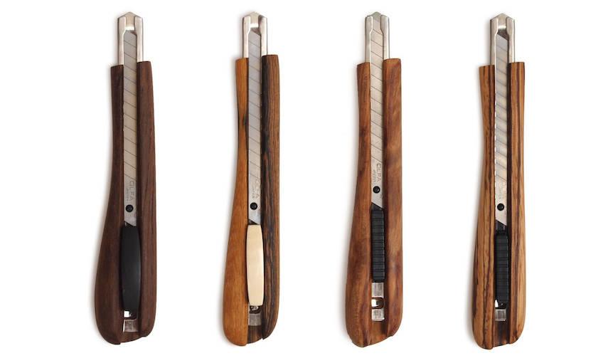 勝部恭治主宰の「孤月」が手がける木製カッターナイフ |KOGETSU