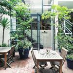 緑に囲まれた爽やかな空間でビールと野菜料理を楽しむ|BROWN RICE by NEAL'S YARD REMEDIES