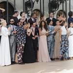 ヴァレンティノの最新コレクションショーに豪華セレブが出席|VALENTINO