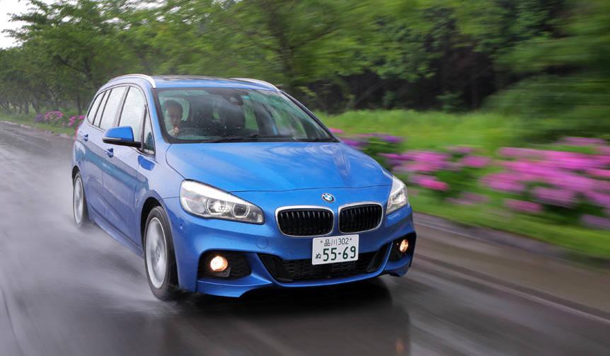 BMW 2シリーズ グランツアラーに試乗 BMW
