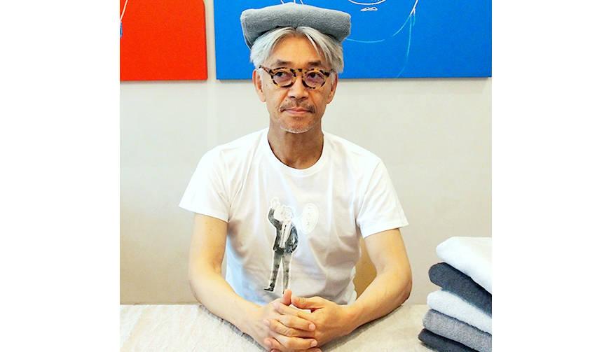 「SCOPE×坂本龍一」コラボレーションタオル、数量限定で登場|SCOPE