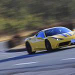 フェラーリ 458 スペチアーレを試乗する|Ferrari