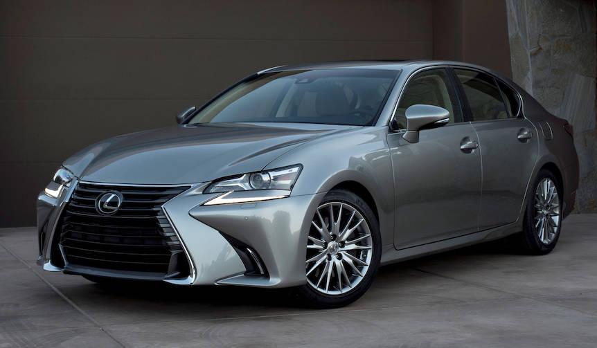 レクサスGSがフェイスリフト|Lexus