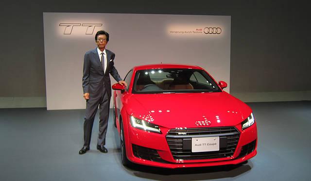 3代目アウディTTが日本上陸 Audi