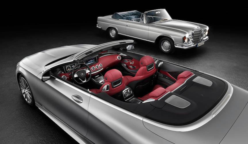 メルセデス・ベンツSクラスにオープンモデルを予告 Mercedes-Benz