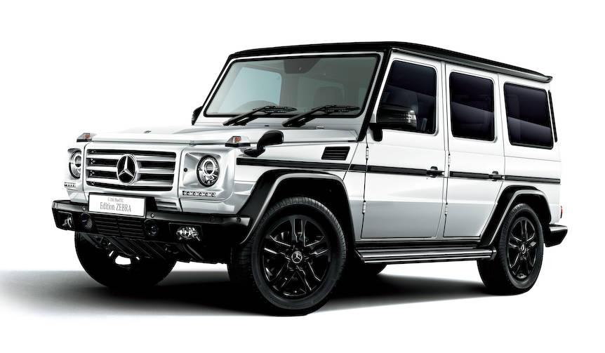 ディーゼルのGクラスに、モノトーンの限定車|Mercedes-Benz