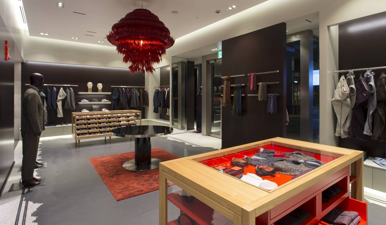 東京ミッドタウンにアジア初の旗艦店オープン ISAIA Napoli