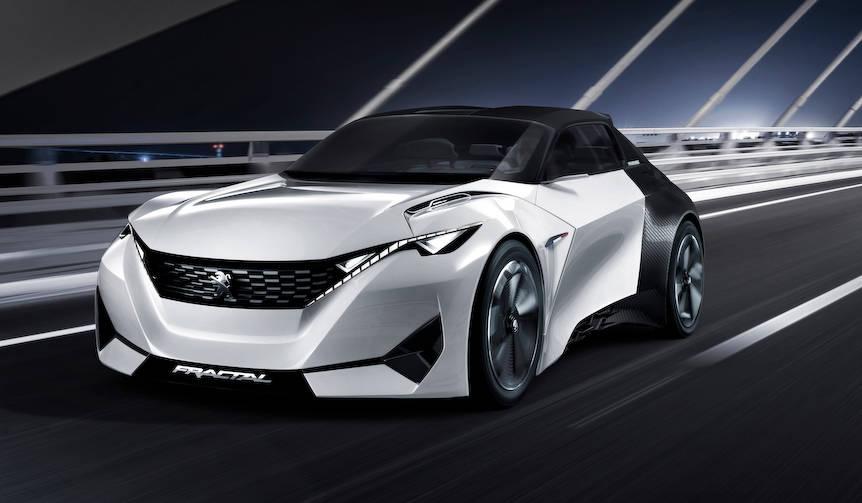 音で伝える電動アーバン クーペ「フラクタル」|Peugeot