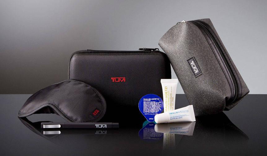 ビジネスクラスの「TUMI」製アメニティキットがアップグレード|Delta Air Lines