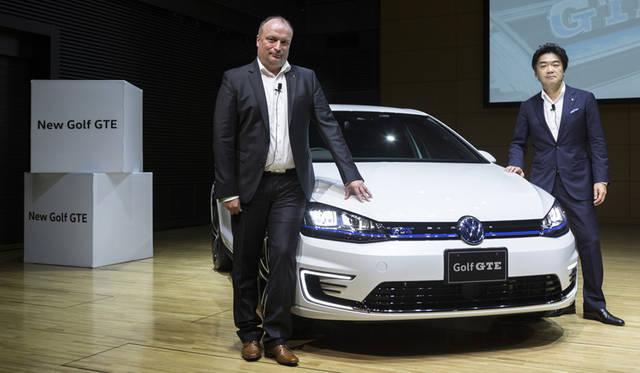 VW初のプラグインハイブリッド、ゴルフ GTEが上陸 Volkswagen