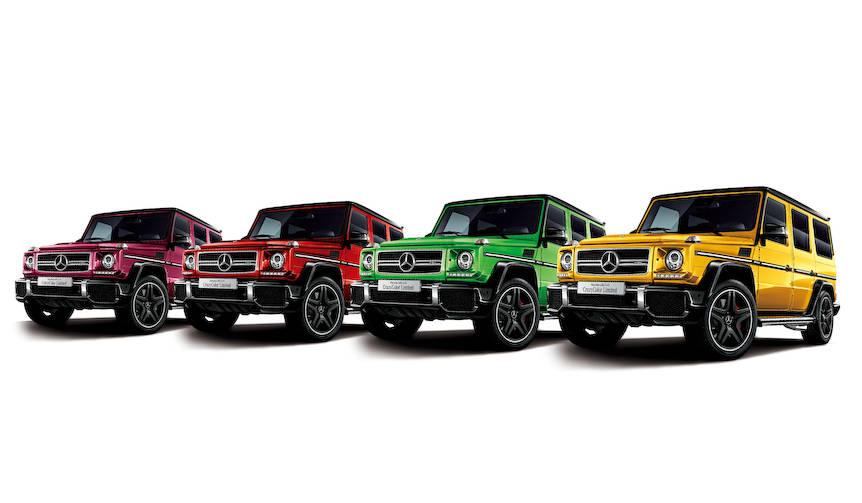 特別な5色をまとう50台限定のG 63特別仕様車|Mercedes-AMG