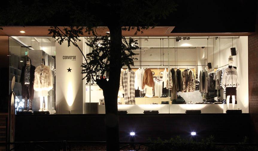 コンセプトショップ第1号店が青山みゆき通りにオープン|CONVERSE TOKYO