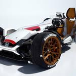 ホンダによるバイクとクルマを融合したコンセプトモデル|Honda