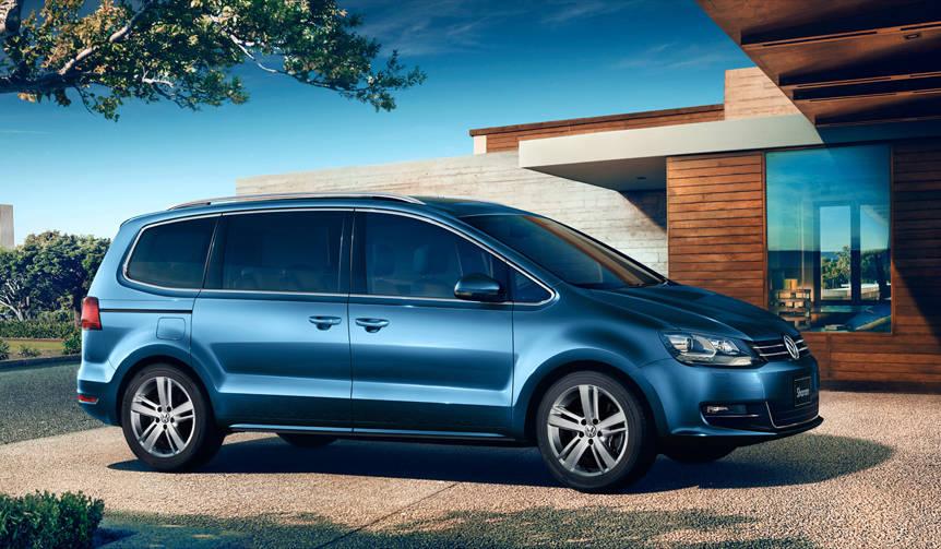エンジン、安全装備が進化したシャラン登場|Volkswagen
