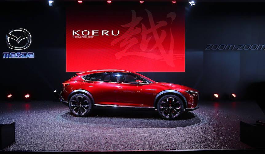 マツダの提案するあたらしいクロスオーバー「越 KOERU」|Mazda
