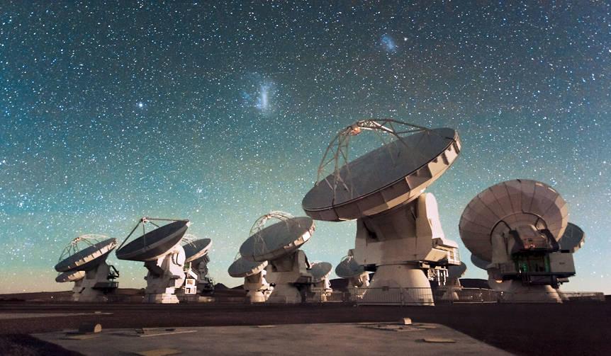 アルマ望遠鏡×11組のアーティストのコラボレーション|MUSIC