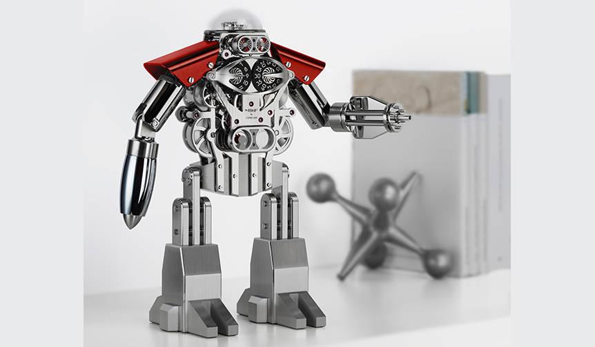 ロボットアニメ好きに捧ぐ贅沢なクロック|MB&F