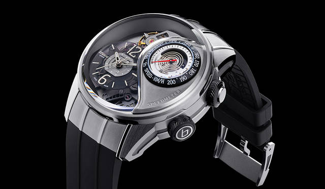 機械式腕時計にスピードメーターを搭載|BREVA