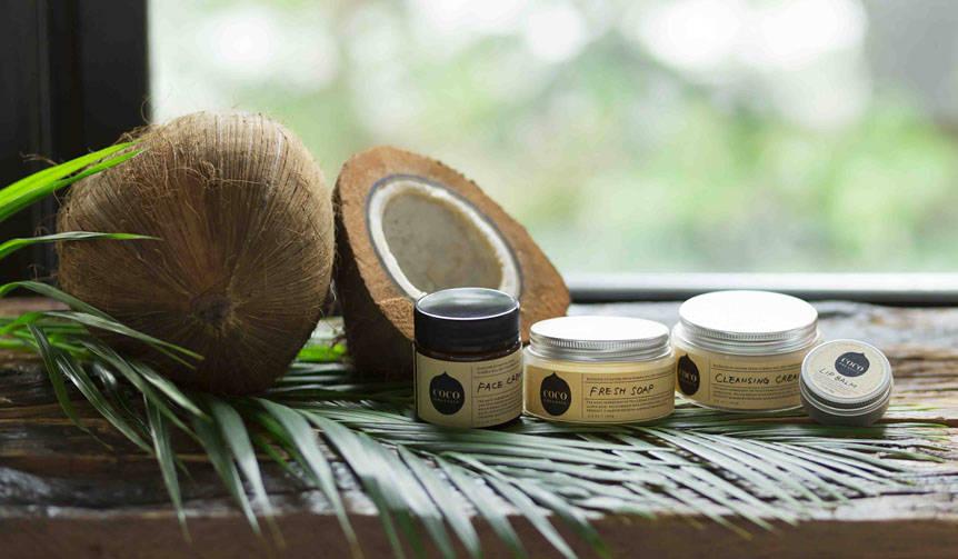 ココナッツオイルの特性を生かしたスキンケア|COCO ORGANICS