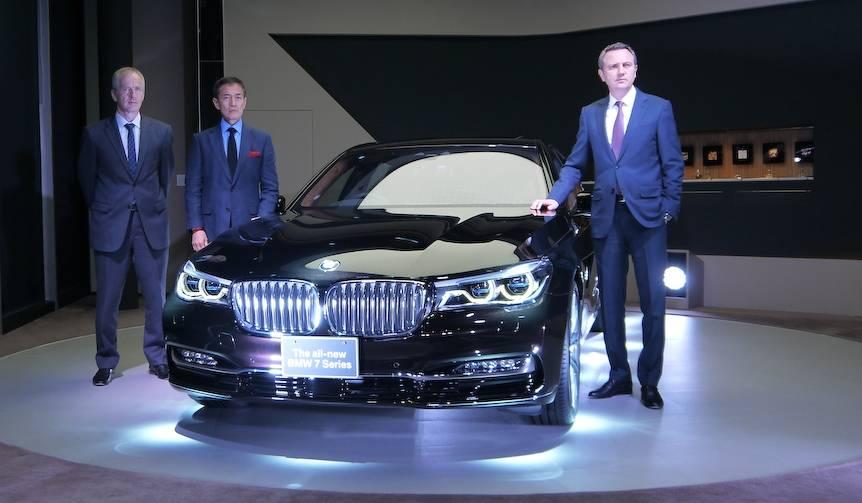 新型7シリーズ、日本上陸|BMW