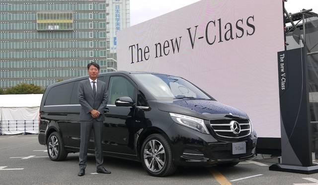 メルセデス・ベンツ新型「Vクラス」国内導入を発表|Mercedes-Benz