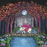 藤田理麻 新作絵画展 『Maya~幻想と魔法~』を開催 ISETAN