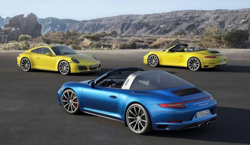 4WDの911もターボ搭載の最新型に進化 Porsche