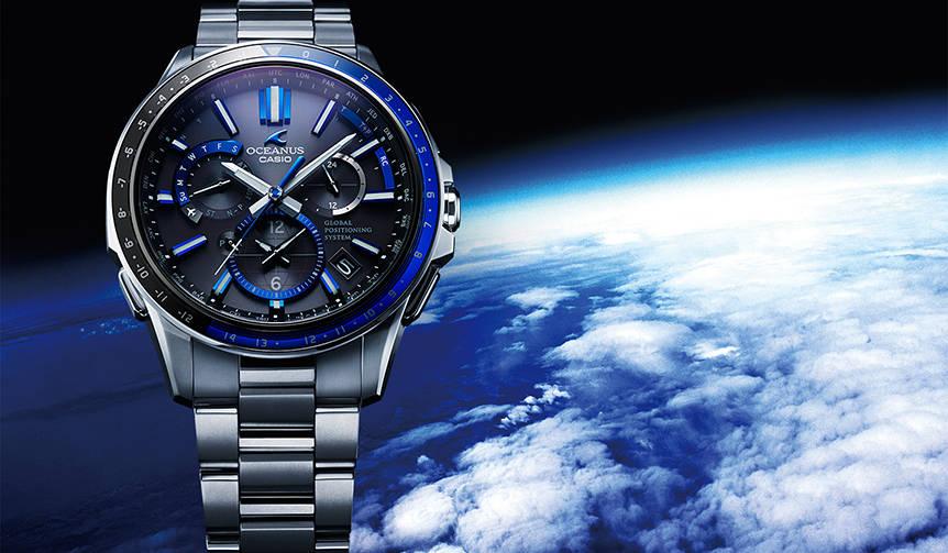 最新の時刻修正システムで世界の「正確な時」を知る|CASIO OCEANUS