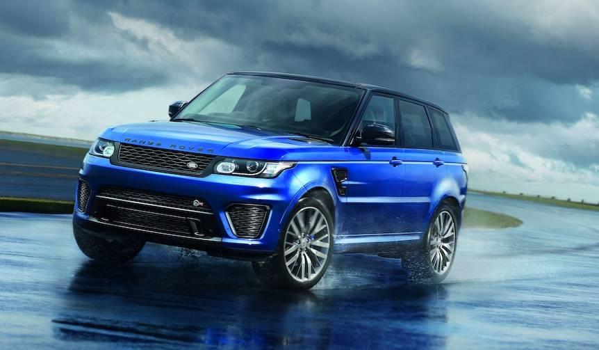 レンジローバー スポーツ SVRが東京モーターショーに登場|Land Rover
