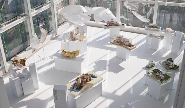 エスパス ルイ・ヴィトン東京がひとつのインスタレーション空間に ESPACE LOUIS VUITTON TOKYO