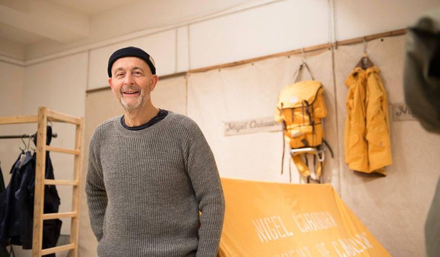 人類初の快挙、南極大陸横断60周年を讃えた最新コレクション|Nigel Cabourn