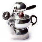 うつくしいデザインが生む極上のエスプレッソ「アトミックコーヒーマシン」|DAIKANYAMA T-SITE