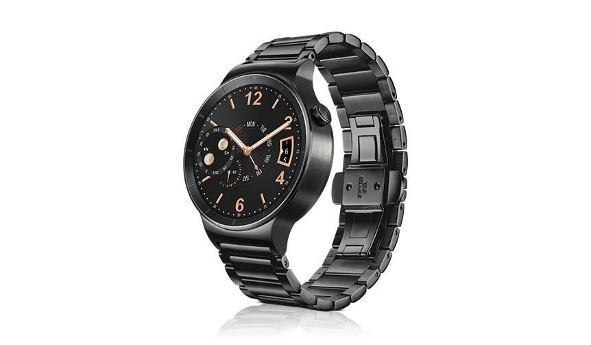 トラディショナルな腕時計の魅力を備えたスマートウォッチ「ファーウェイ ウォッチ」 HUAWEI