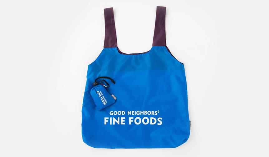 男女を問わずに使用できる別注色のエコバッグ|GOOD NEIGHBORS' FINE FOODS