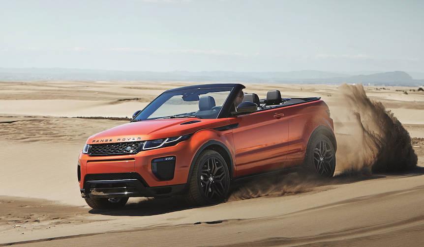 レンジローバー イヴォーク・コンバーチブル ついに来春リリース Range Rover