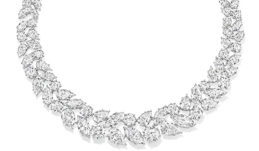 透徹したダイヤモンドの輝きが際立つハリー・ウィンストン|HARRY WINSTON