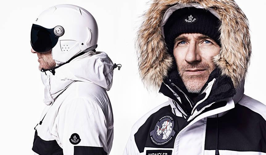 モンクレールの究極ウェアを着用し、南極単独探検に挑む|MONCLER