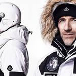 モンクレールの究極ウェアを着用し、南極単独探検に挑む MONCLER