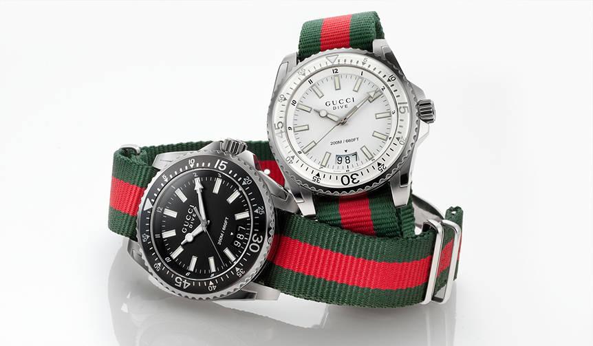 クリスマスに贈るグッチの腕時計|GUCCI