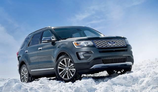 エクスプローラーの最上位グレード、来年3月発売|Ford