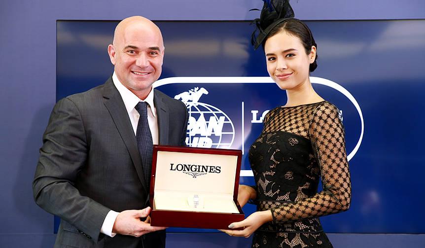 テニス界の伝説、アンドレ・アガシ氏の挑戦|LONGINES - Web Magazine ...
