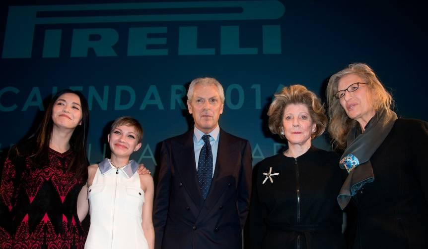 2016年版ピレリカレンダーが登場 Pirelli