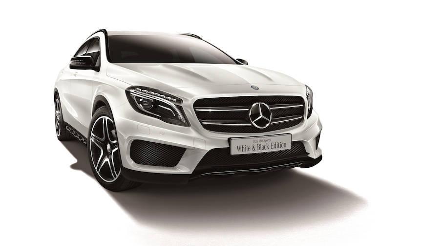 メルセデス・ベンツGLAに白と黒のコントラストがアクセントの特別仕様車 Mercedes-Benz