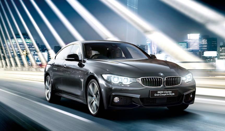 4シリーズ グランクーペにスタイリッシュな特別仕様車 BMW