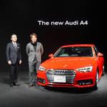 フルモデルチェンジした最新アウディA4、日本上陸|Audi