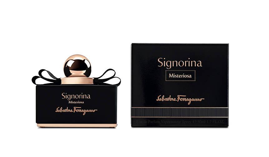 香水「シニョリーナ」の漆黒の美を纏った新バージョン|Salvatore Ferragamo